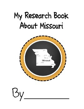 Missouri Student Research Book