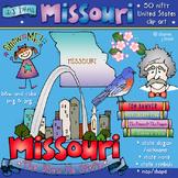 Missouri State Symbols Clip Art Download