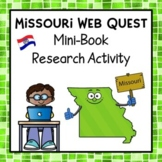 Missouri Webquest Common Core Research Mini Book