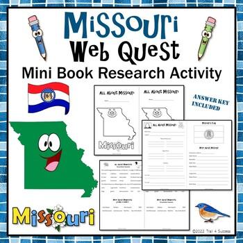 Missouri Webquest Common Core Research Mini Book