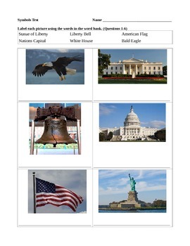 Missouri and USA Symbols Test