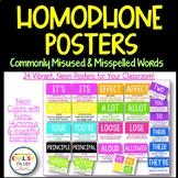 Misspelled & Misused Words Posters