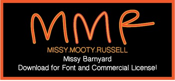 Missy Barnyard Font {Commercial & Personal Use!}