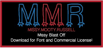 Missy Blast Off Font {Commercial & Personal Use!}
