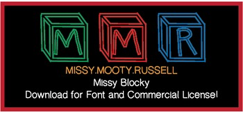 Missy Blocky Font {Commercial & Personal Use!}