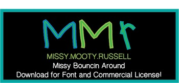 Missy Bouncin Around Font {Commercial & Personal Use!}