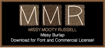 Missy Burlap Font {Commercial & Personal Use!}
