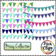 Missy Collection - 196 Pre-made Bunting, 4 styles, 17 colo