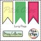 Missy Collection - Build a Flag Banner Set - Stitched, Plain, Poles - 152 Images
