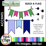 Missy Collection - Build a Flag Banner Set - Stitched, Pla