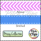Missy Collection: 119 Ribbons - Stitched, Chevron, Gingham
