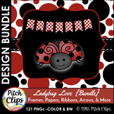 Ladybug Love Seller's Kit {BUNDLE} - Papers, Frames, Banne