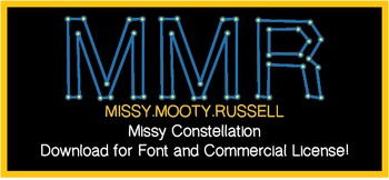 Missy Constellation Font {Commercial & Personal Use!}
