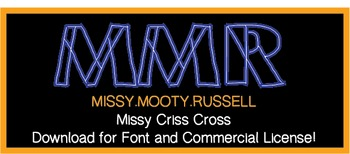 Missy Criss Cross Font (Commercial & Personal Use!}
