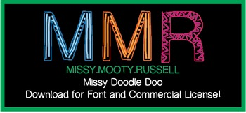 Missy Doodle Doo Font {Commercial & Personal Use!}