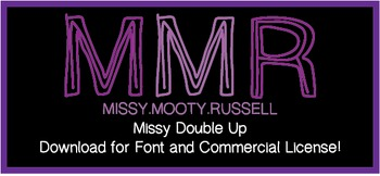 Missy Double Up Font {Commercial & Personal Use!}