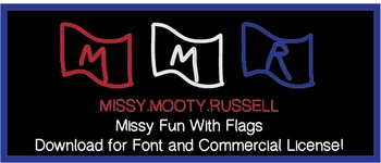 Missy Fun With Flags Font {Commercial & Personal Use!}