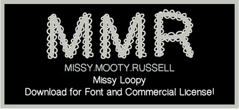 Missy Loopy Font {Commercial & Personal Use!}