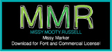 Missy Marker Font {Commercial & Personal Use!}