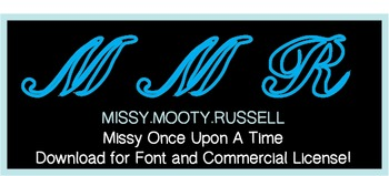 Missy Once Upon A Time Font {Commercial & Personal Use!}