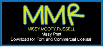 Missy Print Font {Commercial & Personal Use!}