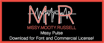 Missy Pulse Font {Commercial & Personal Use!}
