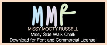 Missy Side Walk Chalk Font {Commercial & Personal Use!}