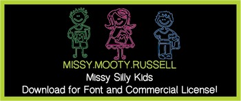 Missy Silly Kids Font {Commercial & Personal Use!}