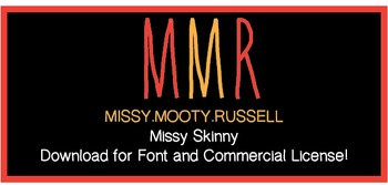 Missy Skinny Font {Commercial & Personal Use!}