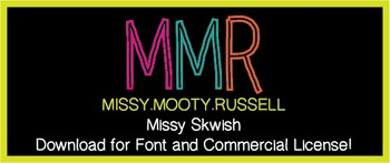 Missy Skwish Font {Commercial & Personal Use!}