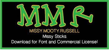 Missy Sticks Font {Commercial & Personal Use!}
