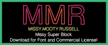 Missy Super Block Font {Commercial & Personal Use!}