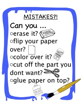 Mistake Poster