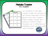 Mistake Tracker for Growth Mindset