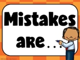 Mistakes Are...