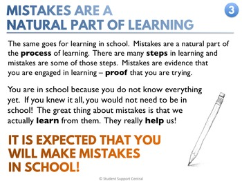 Mistakes Are Part of Learning - Short Story - Classroom Mini Lesson