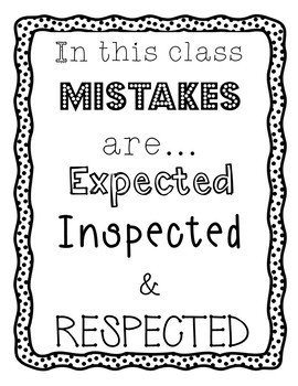 Mistakes Are... Poster (FREE)