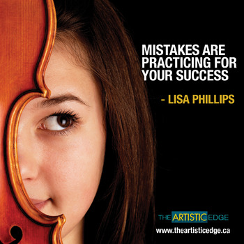 Mistakes Are Practicing For Your Success Printable Poster (8.5 x 11)