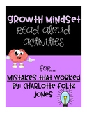 Mistakes That Worked - Growth Mindset Read Aloud Activities