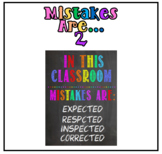Mistakes are... Poster 2