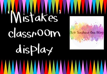 Mistakes are learning experiences in disguise banner