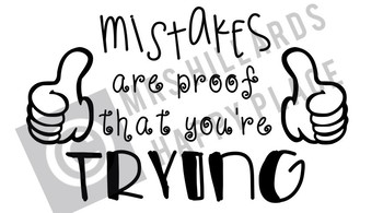 Mistakes are proof that you're trying SVG & PNG files
