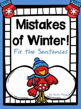 Mistakes of Winter: Fix the Sentences