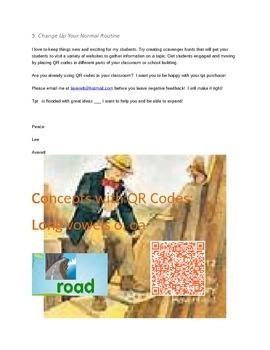 Mister Bones Dinosaur Hunter Concepts with Q.R. codes