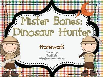 Mister Bones: Dinosaur Hunter Homework - Scott Foresman 1st Grade