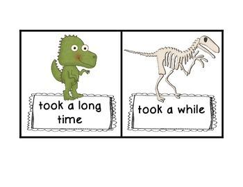 Mister Bones Dinosaur Hunter: Reading Street High Frequency Word Phrases