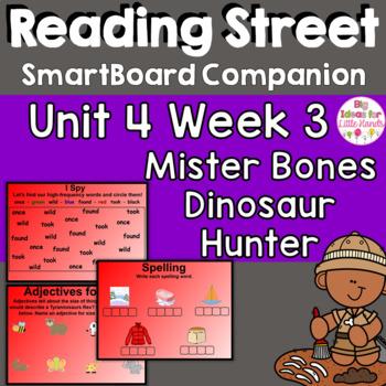 Mister Bones: Dinosaur Hunter SmartBoard Companion 1st Grade