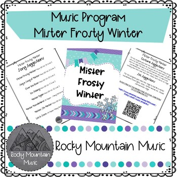 Mister Frosty Winter Music Program