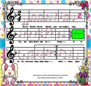 Mister Rabbit; An Afr.Amer. Spiritual: Tam-Ti & Syncopa (POWER-POINT Edition)