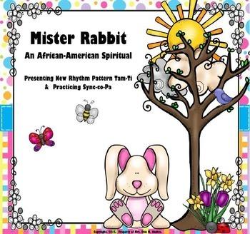 Mister Rabbit; An Afr.Amer. Spiritual: Tam-Ti & Syncopa (P
